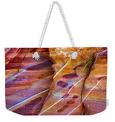 Weekender Tote Bag featuring the photograph Timelines by Darren White