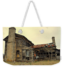 Weekender Tote Bag featuring the photograph Times Past 2 by Marty Koch