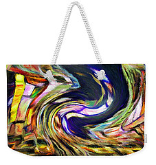 Times Square Swirl Weekender Tote Bag