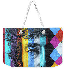 Times They Are A Changing Giant Bob Dylan Mural Minneapolis Detail 2 Weekender Tote Bag