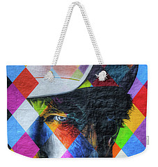 Times They Are A Changing Giant Bob Dylan Mural Minneapolis Detail 3 Weekender Tote Bag