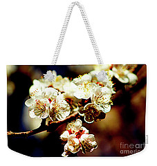 Timid Love Apricot Blossoms II Weekender Tote Bag