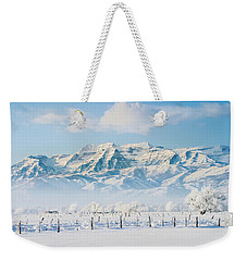Timp In Winter Weekender Tote Bag