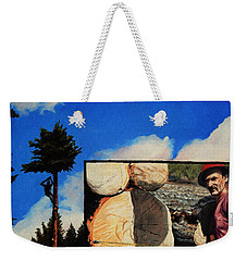 Tim's Lumber Weekender Tote Bag by Ruanna Sion Shadd a'Dann'l Yoder