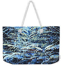 Tim's Winter Forest Weekender Tote Bag