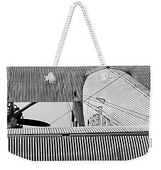 Tin Drag Weekender Tote Bag