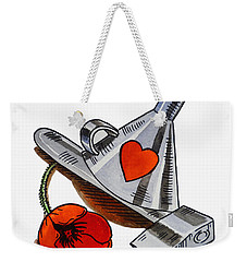 Tin Man Hat The Wizard Of Oz Weekender Tote Bag
