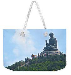 Tin Tan Buddha In Hong Kong Weekender Tote Bag