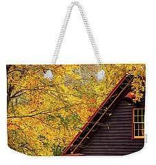 Tingler's Mill In Fall Weekender Tote Bag