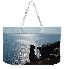 Tintagel Stack Cornwall Weekender Tote Bag