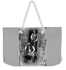 Tintype Portrait Reproduction Weekender Tote Bag
