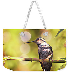 Tiny Bird Upon A Branch Weekender Tote Bag