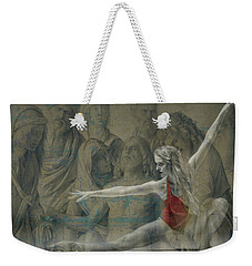 Tiny Dancer  Weekender Tote Bag by Paul Lovering