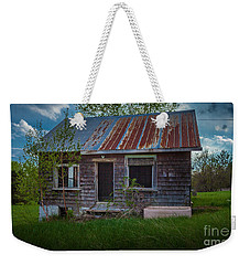 Tiny Farmhouse Weekender Tote Bag