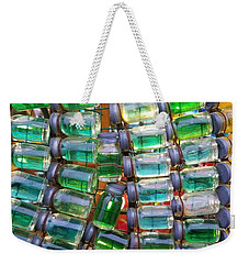 Tiny Glass Jars Weekender Tote Bag