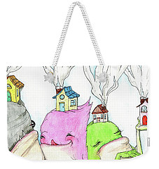 Tiny Houses Weekender Tote Bag