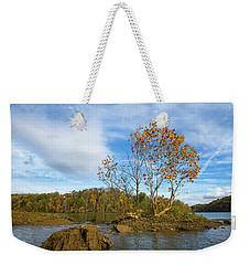 Tiny Island Fall Weekender Tote Bag