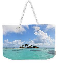 Tiny Island Weekender Tote Bag