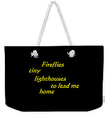 Tiny Lighthouses Weekender Tote Bag
