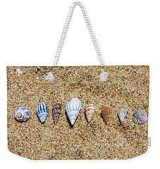 Tiny Seashells On The Sand Weekender Tote Bag