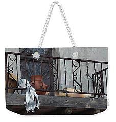 Tiny Southwest Balcony Weekender Tote Bag