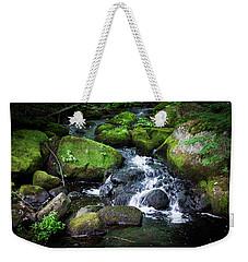 Tiny Waterfall - Ellsworth Maine Weekender Tote Bag