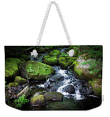 Tiny Waterfall - Ellsworth Maine Weekender Tote Bag