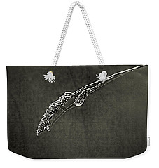Tiny Web On Bent Grass Weekender Tote Bag