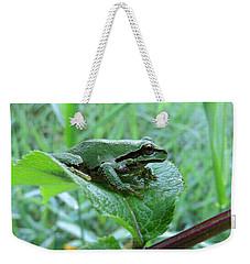 Weekender Tote Bag featuring the digital art Tiny Wonder by I'ina Van Lawick