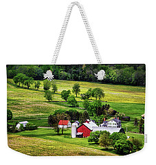 Tioga County Farmstead Weekender Tote Bag