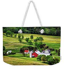 Tioga County Farmstead Weekender Tote Bag