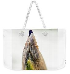 Tip Of An Iris Weekender Tote Bag