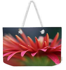 Weekender Tote Bag featuring the photograph Tip Of The Flower Petals by Yumi Johnson