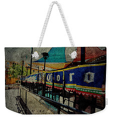Tip'em Back Weekender Tote Bag by Mark Ross