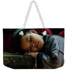 Tired Actor Weekender Tote Bag