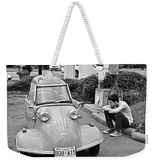 Tired Driver Weekender Tote Bag