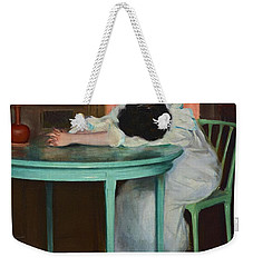 Tired Weekender Tote Bag