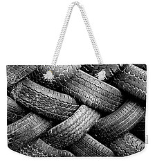 Tired Treads Weekender Tote Bag