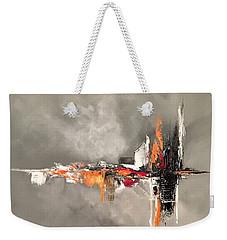 Titanium Weekender Tote Bag