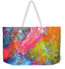 Title. Intermezzo Odyssey Painting Weekender Tote Bag