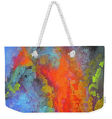 Title. Symphonata. An Acrylic Painting Weekender Tote Bag