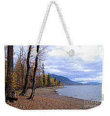 The Song Of October Weekender Tote Bag by Victor K
