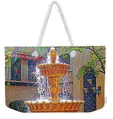Tlaquepaque Fountain In Sunlight Weekender Tote Bag