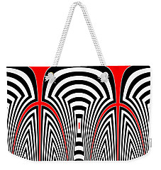 Tlingit Tribute Weekender Tote Bag
