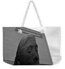 Weekender Tote Bag featuring the photograph Tampa Museum Of Art Work B by David Lee Thompson