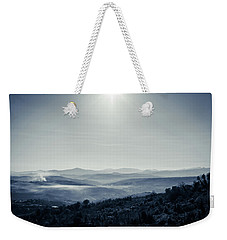 To A Peaceful Valley Weekender Tote Bag by Andrea Mazzocchetti