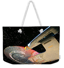 To Boldly Go Weekender Tote Bag