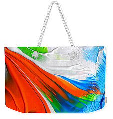Weekender Tote Bag featuring the painting To Da Sea by Fred Wilson