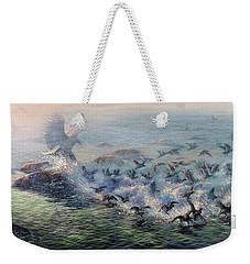To Find Salvation Weekender Tote Bag