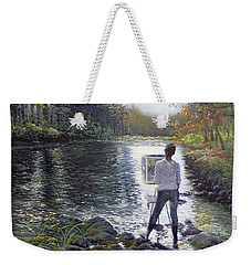 To Find Yourself Weekender Tote Bag